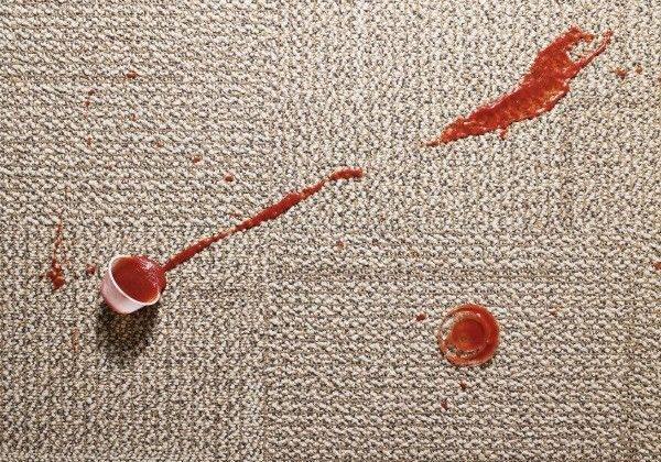 قالیشویی در پردیسان | چگونه لکه سس قرمز را پاک کنیم